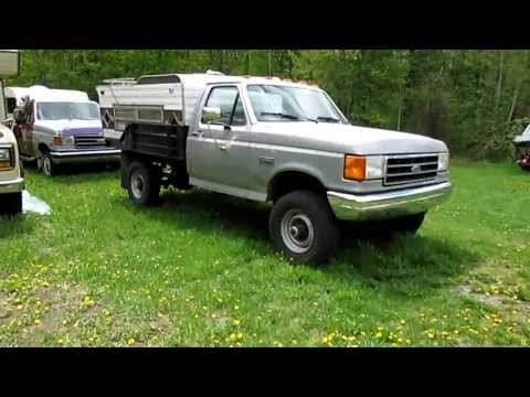 New 1991 Ford F350 4x4 Diesel, and IDI Diesel Starting Spree!