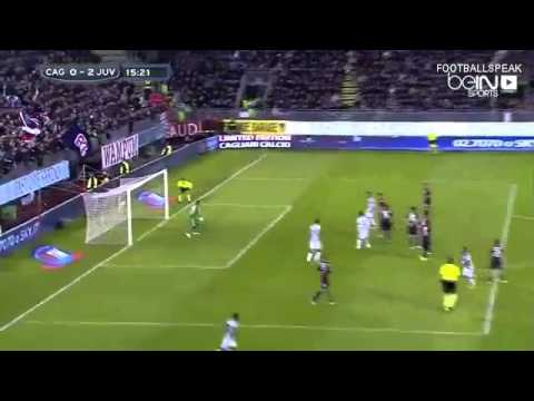 Juventus vs Cagliari 3-1 All Goals 12/18/2014 Serie A 2014-2015