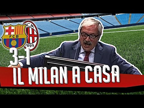 Ds 7Gold - (BARCELLONA MILAN 3-1) IL MILAN A CASA