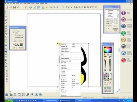 Auto Vectorize Demo with Boss Kut's Gazelle Funtime 2 software
