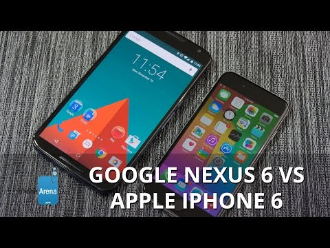 Google Nexus 6 vs Apple iPhone 6