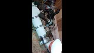 экструдер самодельный для производства мона волокна (лески) из пп. пэ.