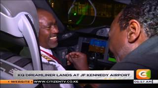 The game changer |The KQ NBO-NYC  inaugural flight lands in New York on Monday