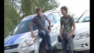 тест Volkswagen Tiguan vs. Ford Kuga  www.skorost-tv.ru