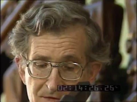 Chomsky v. Bolkestein debate, 1988 - Part 1