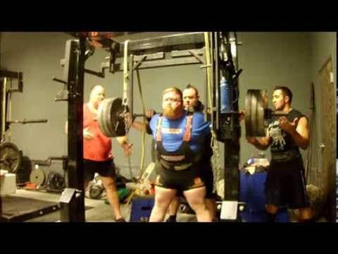 Henry Thomason Powerlifting Squat Training 11/15/13 - 3w out Russia Image 1