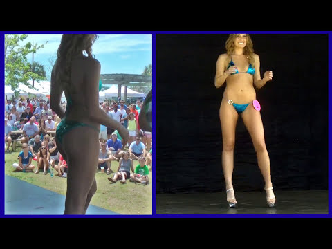 Bikini Contest at the 2013 Southeast US Boat Show
