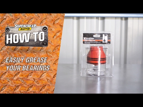 Easily Grease your Bearings // Bearing Packer
