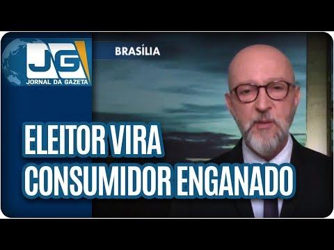 Josias de Souza/Eleitor vira consumidor enganado