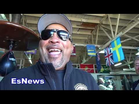 buddy mcgirt to seckbach stay black EsNews Boxing
