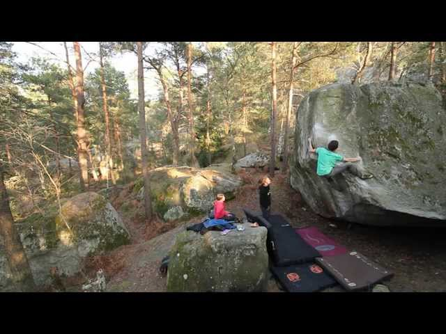 Fontainebleau - Our bouldering time in the magic forest