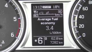 Fuel consumption test - Suzuki Vitara 4x4 1,6 l DDiS 88 kW