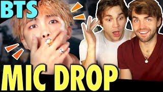 Download Lagu BTS - MIC Drop (Steve Aoki Remix) MV Reaction! [First Time Hearing The Song!!] Gratis STAFABAND