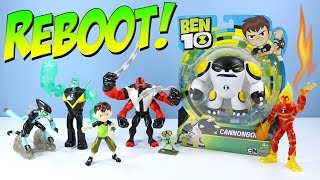 Ben 10 Reboot 2017 Playmates Toys Basic Action Figure Review with Four Arms