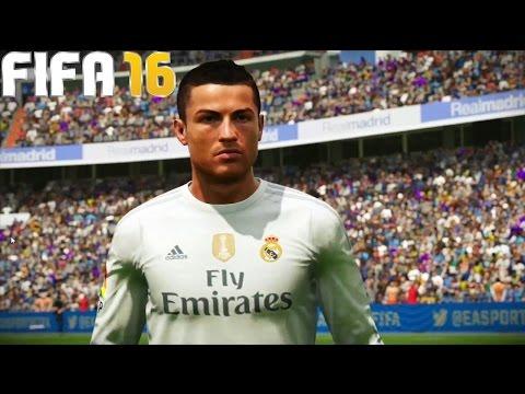 Cristiano Ronaldo FIFA 16 goal