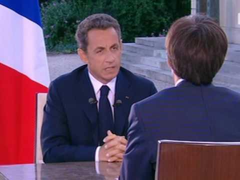 Sarkozy défend Woerth et reste ferme sur les retraites