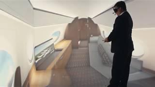 G650ER Interior Design Tour at NBAA 2017