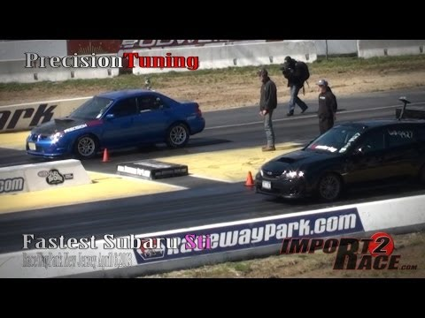 Fastest Subaru Sti at Etown