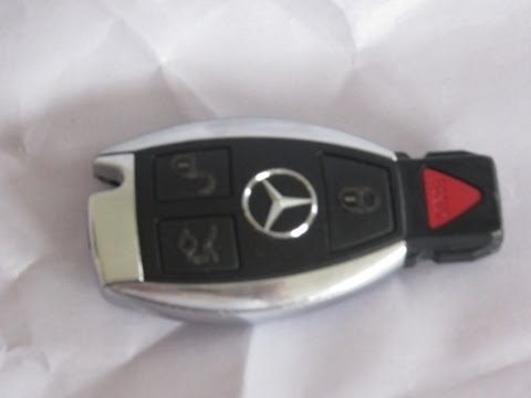 Mercedes Benz Keyfob Battery Replacement SmartKey Keyless Easy to do
