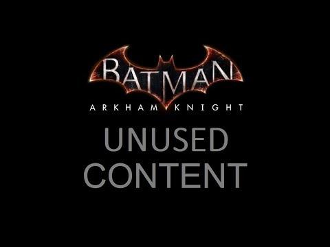 AUDIO; Batman; Arkham Knight; Unused Content
