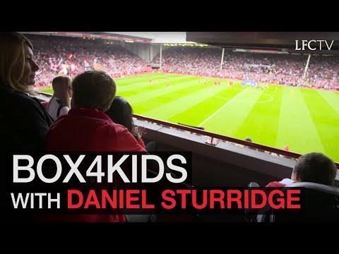Daniel Sturridge tells story of Box4Kids campaign