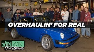 We stole our friend's Porsche to rebuild it
