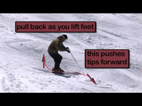 Warren Smith Ski Academy - Moguls - Pulling Back