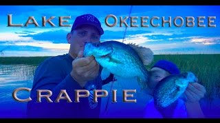 CRAPPIE! CATCHING, CLEANING, COOKING!!!! Lake Okeechobee, Fl