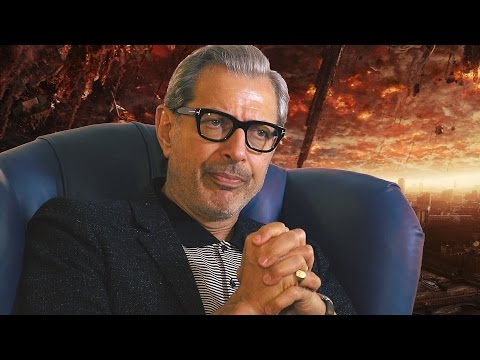Jeff Goldblum Has a Plan to Save the World