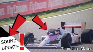 McLaren MP4/4 Honda Sound Update |Mechwars #43