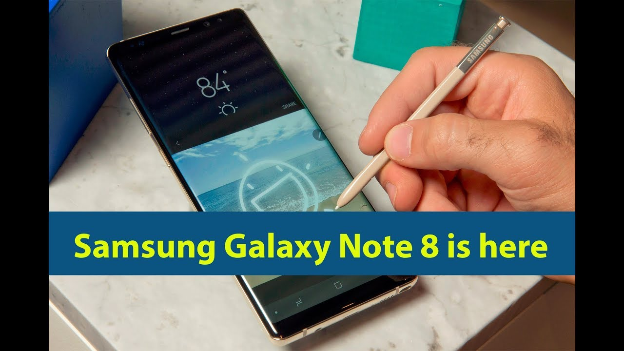 Samsung Galaxy Note 8 is here: A few interesting features