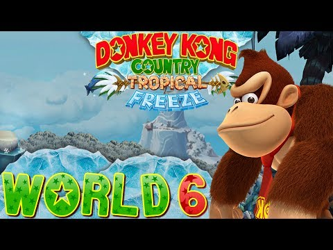 Donkey Kong Country: Tropical Freeze - World 6 (Co-op)