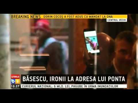 Victor Ponta, ironizat de Traian Basescu
