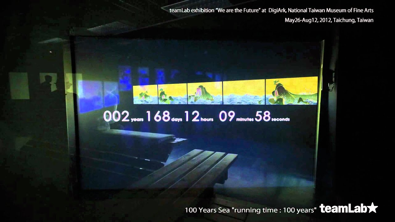100 Years Sea [running time: 100 years] / We are the Future (beta ver.)