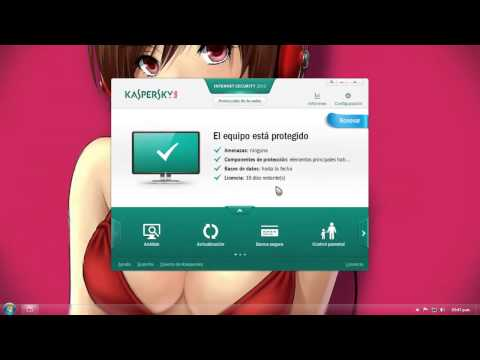 Como activar el Kaspersky Internet Security 2013 + Llaves