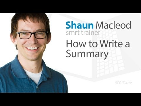 How to write a summary? Best tips and recommendations