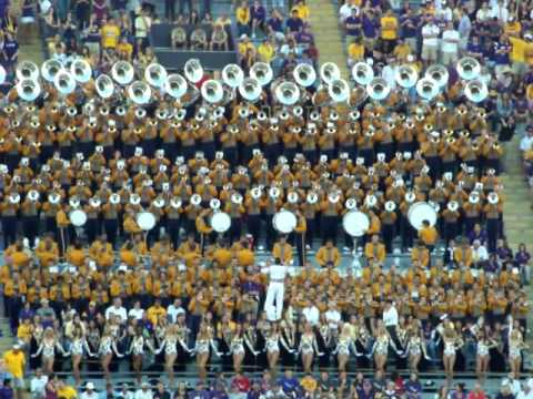 Lsu Tiger Band Ants Marching