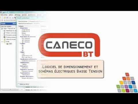 Présentation de Caneco BT - ALPI - Logiciel de dimensionnement et schéma électrique Basse Tension