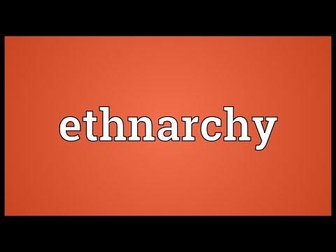 Header of ethnarchy
