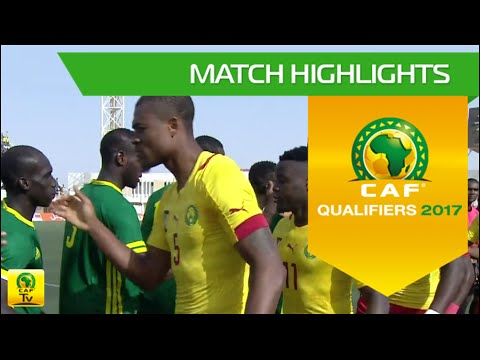 Mauritania Vs Cameroon | Africa Cup Of Nations Qualifiers 2017