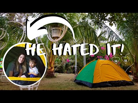 WE CAMPED IN VIETNAM (not recommended for children)