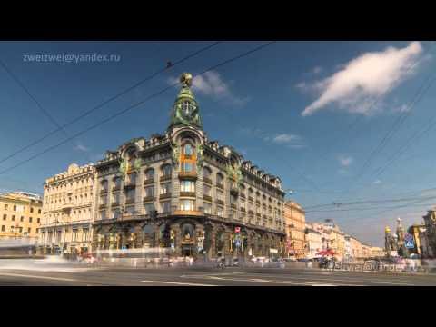 St. Petersburg / Санкт-Петербург, Russia (22 Timelapse)