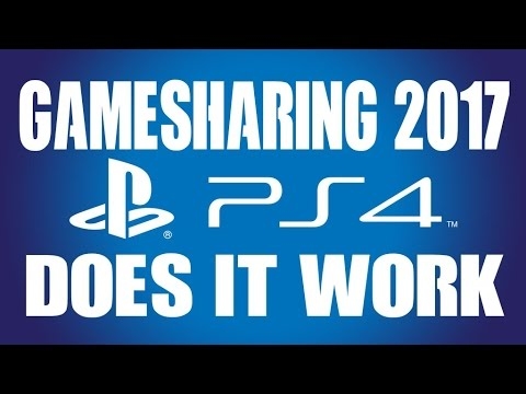 PS4 Gamesharing 2017 Does it Still Work Can I get BANNED