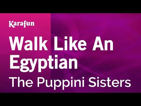Karaoke Walk Like An Egyptian  The Puppini Sisters *
