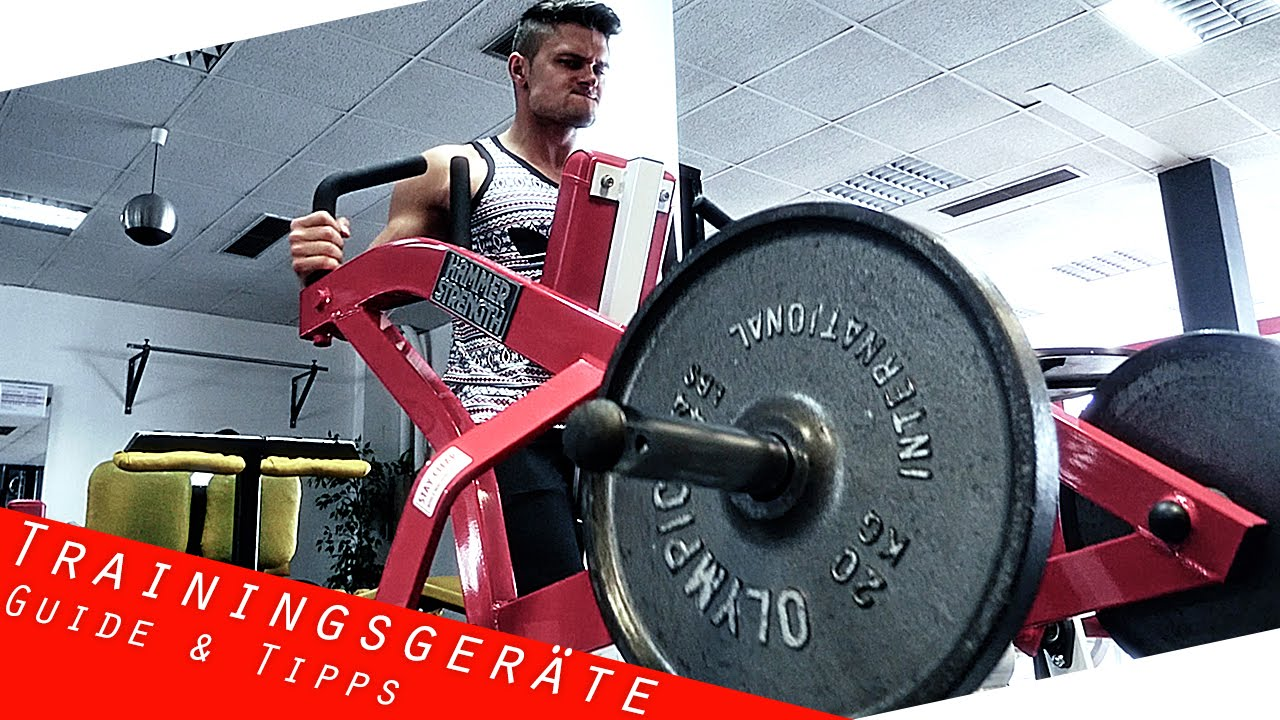 Gym Equipment Guide - Hammer Strength Iso Lateral Row