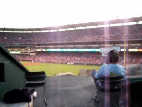 Angel Stadium - Outfield Camera Men View