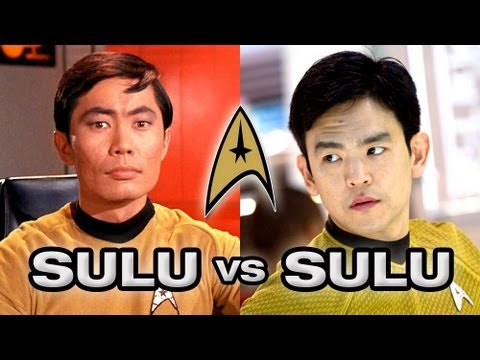 Star Trek's Best Sulu - George Takei or John Cho?