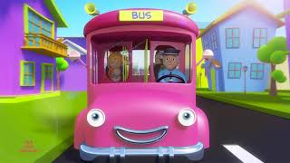 The Wheels On The Bus | Bus Songs For Children | Kids Nursery Rhymes
