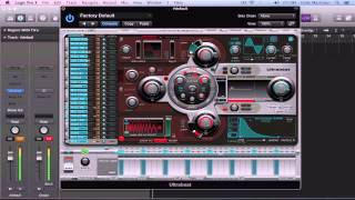 LOGIC PRO X Create Custom Drum Kits in Ultrabeat