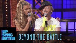 David Spade vs. Nina Agdal Go Beyond the Battle   Lip Sync Battle